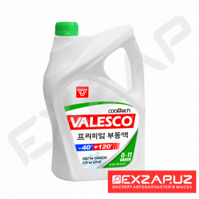 Антифриз VALESCO  GREEN 5 кг