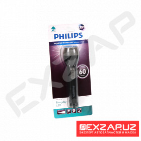Фонарик PHILIPS Everyday LED, not incl. 2 x AA batteries (71212931) SFL3175/10